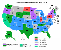 Mn State Sales Tax Chart State Capital Gains Tax Rates Realtor Party