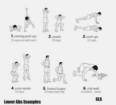 Abs Exercise Chart Lower Abs Chart Bedowntowndaytona Com
