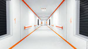 3d White Hallway HD Wallpaper ...