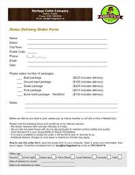 Delivery Order Sample 24 Delivery Order Examples Free Samples Examples Download Free 15