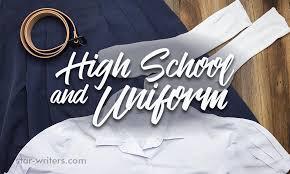 Sample Of Persuasive Essay High School And Uniform
