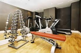 decorating wood home gym equipment ideas top 15 home gym