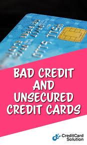 Estimate Credit Card Interest Bad Credit And Unsecured Credit Cards Credit Card Interest