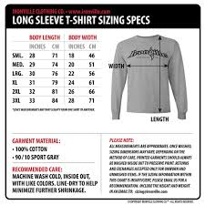 Bodybuilding Body Measurement Chart Ironville Size Charts Powerlifting Shirts Clothes Shirts