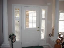 Front Door Blinds And Front Doors Creative Ideas: Front Door Window  Coverings