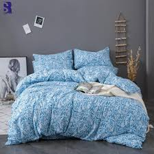 sunnyrain printed king size bedding set duvet cover set queen bed uk us twin size kids bedding sets white king size duvet cover gray twin comforter from
