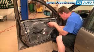 front door knob inside. How To Install Replace Front Inside Door Handle Nissan Altima 98-01 1AAuto.com - YouTube Knob