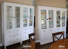 hemnes cabinet with panel glass door white stain ikea care