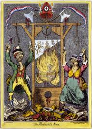 french revolution new world encyclopedia satirical cartoon lampooning the excesses of the revolution as seen from abroad