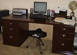 Diy It Has Everything Like In Desk sturdy Build Leg Room Lots Of Space On Top And Deep File Cabinets Who Knows It May End Up Being Our Own Heirloom Pt Money How To Build Your Own Desk Computer Desk Plans Pt Money