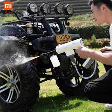 Xiaomi Bạn Pin Lekong Bình Xịt Điện Không Dây Rửa Xe Sạch Súng Nước Áp Lực  Cao Súng Máy Rắc Dụng Cụ xe Ô Tô|Điều khiển từ xa thông minh