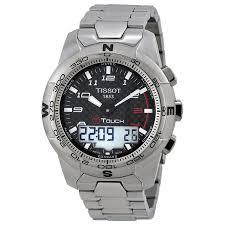 tissot t touch ii mens analog digital watch t047 420 44 207 00 zoom tissot tissot t touch ii mens analog digital watch
