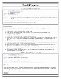 Emailing Resume And Cover Letter Message Elegant Emailing Cover