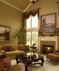 Living Room Curtain Panels Traditional Living Room Ideas With Large Window And Curtain Panel