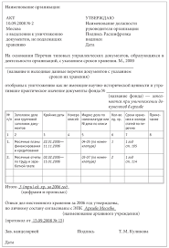 Хранение документов в организации и перечень сроков хранения Определение срока хранения документов