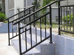 outdoor metal stair railing. Steel Handrails For Outdoor Steps Metal Stair Railing Or Removable Aluminum Handrail N