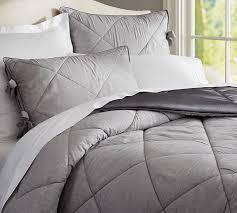 Linen Silk Comforter & Sham | Pottery Barn &  Adamdwight.com
