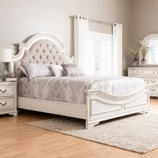 White Bedroom Set Queen | White Vintage Bedroom Set