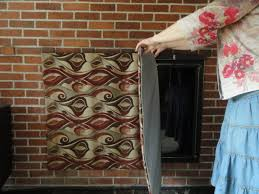 insulated magnetic decorative fireplace cover 2 um size