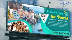 Tourism Banner Design Billboard Design Ideas In Photoshop 2019 Complete Flex Banner Design Tourist Banner Tutorial