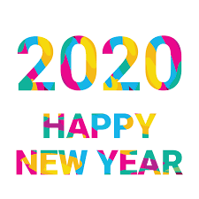 2020 Happy New Year Colorful Wallpaper Hd Free Happy New