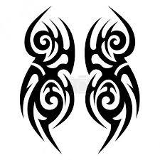 Vektor Tribal Designs Tribal Tattoos Art Tribal Tattoo 145203355