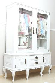 white armoire with glass doors stage dos wk white armoire with glass doors