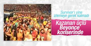 Survivor'da kazananları bu kez konser görüntüsü ele verdi
