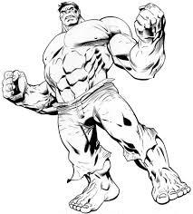 Coloriage De Hulk L