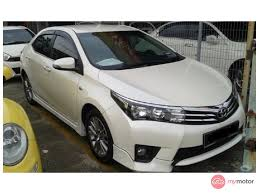 2014 Toyota Corolla Altis for sale in Malaysia for RM82,800 | MyMotor