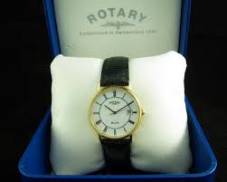 rotary elite gents 18ct watch rotary elite gents 18ct watch