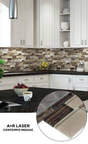 Installing A Glass Tile Backsplash Enchanting Peel And Stick Glass Tiles Backsplash Signedbyange