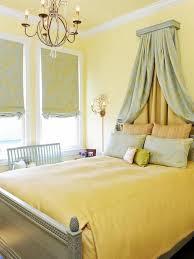 classy yellow bedroom