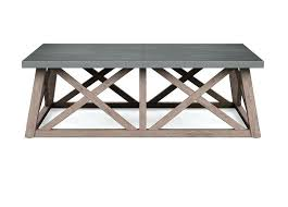 frame 1 of undefined metal top coffee table zinc tables