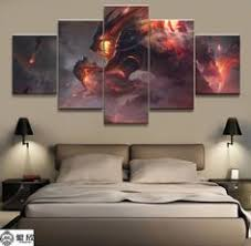 Canvas Pictures Wall Art HD Prints Posters <b>Framework 5 Pieces</b> ...