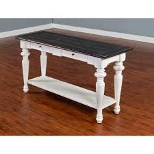White sofa table Diy European Cottage Charcoal Gray White Sofa Table Rc Willey Search Results For home Entertainment Centers Buy Sofa Console