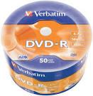 Диски DVD-R Verbatim 4.7Gb (50)
