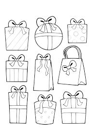 Cadeautjes Kleurplaat