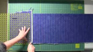 Fabric Cutting for Quilt As You Go - YouTube &  Adamdwight.com