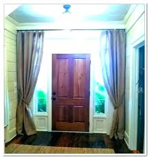 door with side panel curtains for front door front doors side panels a curtains front