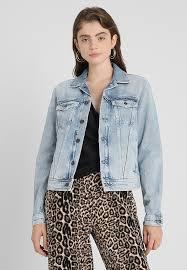 core denim jacket light blue denim