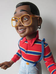 Vintage pull-string talking Steve Urkel doll from Hasbro, 1991. - il_fullxfull.341842844