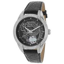 watches from top brand s for men ladies and kids at kmart com versace men s diamond automatic black genuine leather and dial