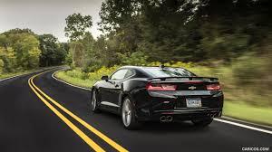 chevrolet camaro 2016 black. 2016 chevrolet camaro ss black rear wallpaper l