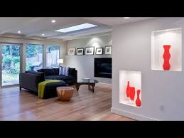 recessed wall niche decorating ideas youtube