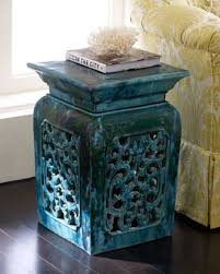 chinese garden stool. Incredible Decorative Chinese Garden Stools Cozy Bliss With Regard To Blue Stool L