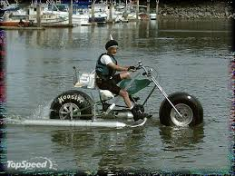 Amphibious Bike Of Some Kind Lol D Water Buoyancy