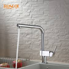 pull kitchen faucet color: spout kitchen faucet deck mount pull out sink mixer kitchen mixer tap square handle hot and cold water led color taps