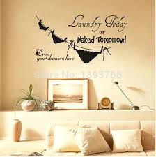 laundry wall decals best ing laundry today or tomorrow removable vinyl life funny kitchen wall laundry wall decals