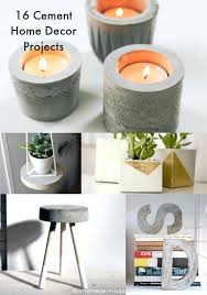 diy home projects have you been tempted to try a concrete project here are inspirational ideas